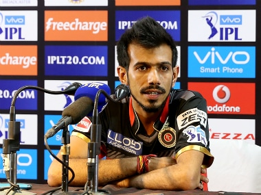 Yuzvendra Chahal was the pick among the RCB bowlers against KXIP, picking four wicket for 25 runs. Sportzpics/IPL