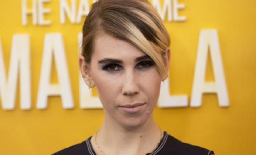 Zosia Mamet was told she was fat — at the age of 8. Image from News18