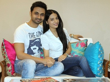 Anmol posted this photo with Amrita on his Facebook page, announcing that they had married