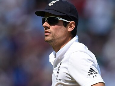 England skipper Alastair Cook is on the verge of completing 10,000 Test runs. AFP