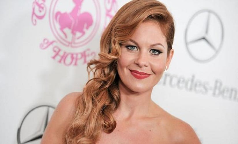 Candace Cameron Bure has spoken about the vicious binge-and-purge cycle that had her in its hold. Image from AP