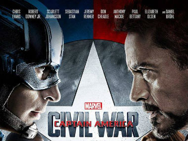Captain America in Civil War is a darker character. Image courtesy: Captain America Facebook page