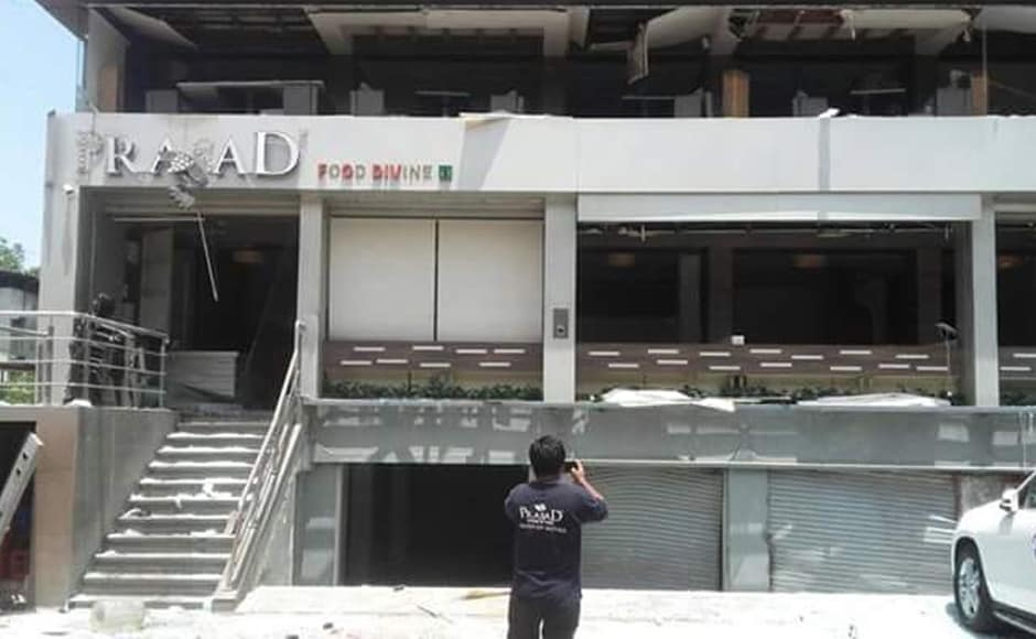 The blast was mistaken as an earthquake by nearby residents who fled to nearby areas for safety. LNN News Network