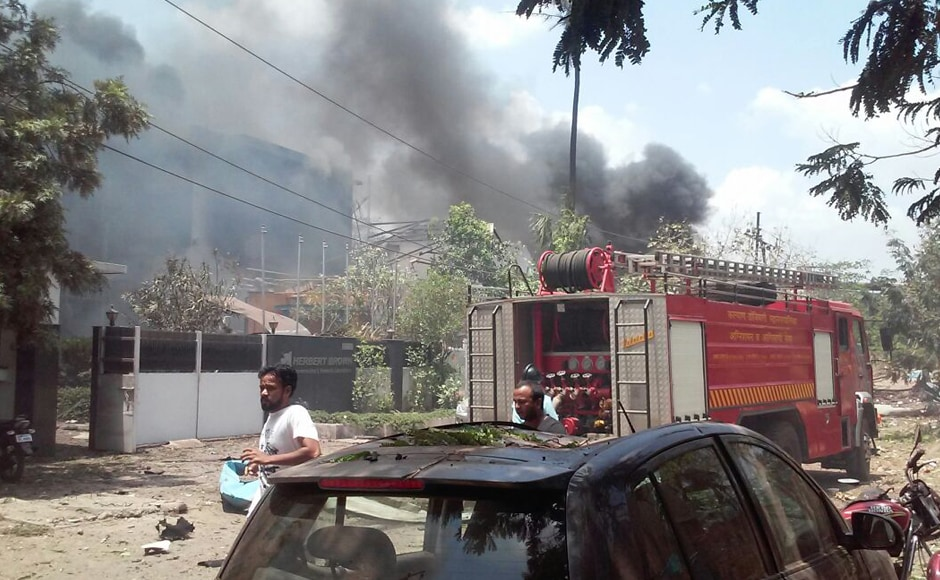 Fifteen fire-tenders and water tankers were pressed into service following the blaze. LNN News Network