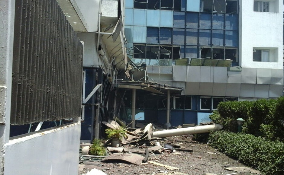 The shock waves due to the boiler blast shook buildings and shattered glass panes in more than a 2km radius surrounding the area. LNN News Network