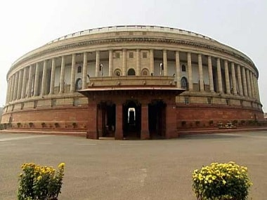 War of words in the Lok Sabha. File photo. Image Courtesy - CNN News18