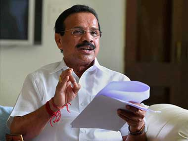 File image of Sadanand Gowda. PTI