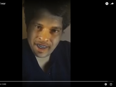 Tanmay Bhat in the video. Image courtesy: Youtube screengrab