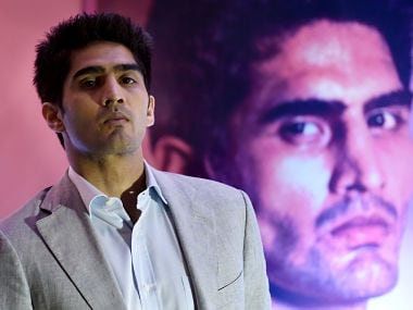 Vijender Singh may take part in Rio Olympics for India. AFP
