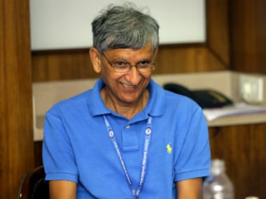 File picture of Ajay Shirke. BCCI