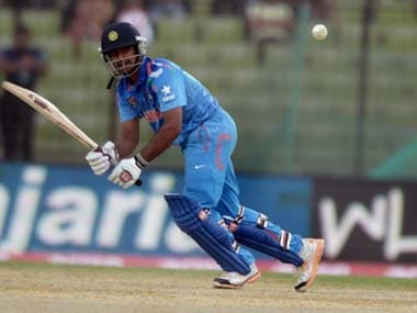 This will be Ambati Rayudu's best chance of establishing himself in the Indian side. AFP