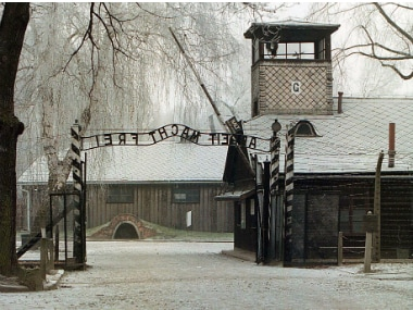 The Auschwitz concentration camp, built in 1940, was first constructed to hold Polish political prisoners and later became a major Nazi death camp. Reuters