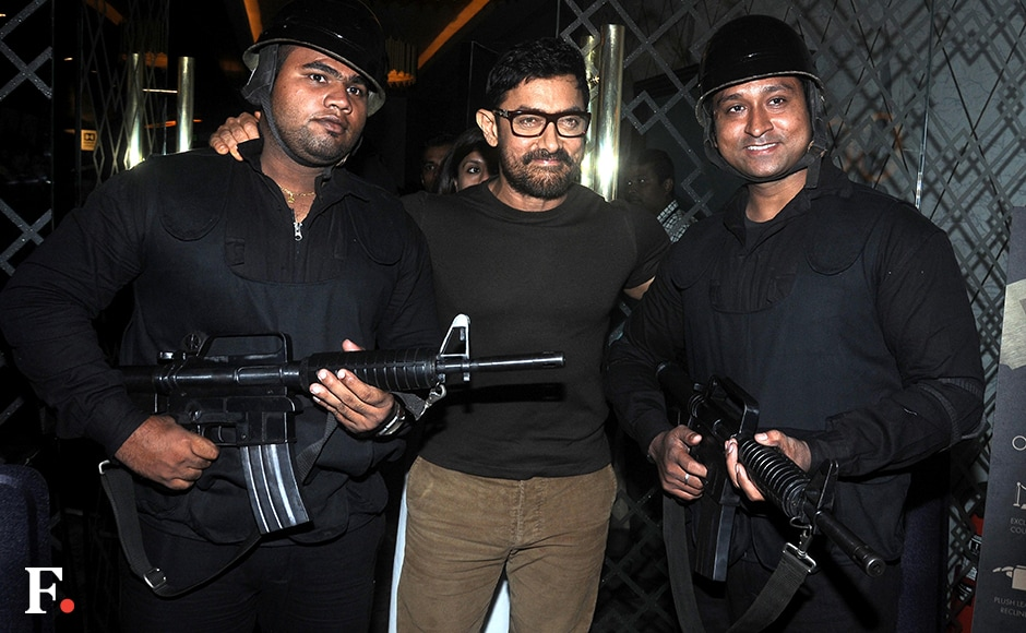 Aamir Khan was a special guest at the trailer launch of season two of 24.<br />Image by Sachin Gokhale/Firstpost