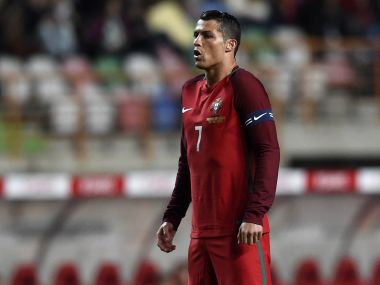Cristiano Ronaldo won't get many chances to taste glory with Portugal again. AFP