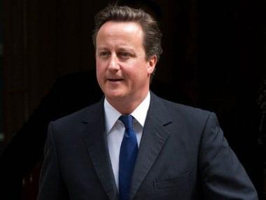 A file photo of David Cameron. AP