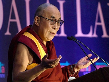 File image of Dalai Lama. PTI