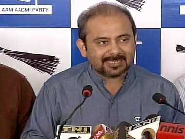 Dilip Pandey at the press conference. Twitter/@ANI_news