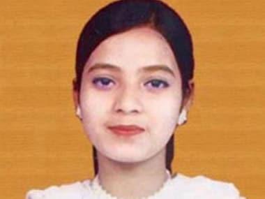 File image of Ishrat Jahan. IBNlive