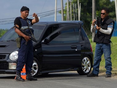 File image of Malaysian police