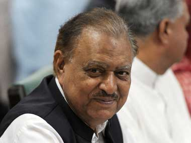 File image of Mamnoon Hussain. AFP