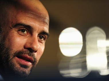 Pep Guardiola will take charge of Manchester City. Getty
