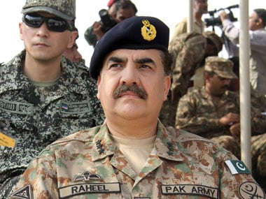 Pakistan Army chief Raheel Sharif. File photo. Reuters