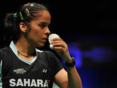 Saina Nehwal is looking forward to playing in the German Open. AFP
