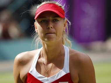 Maria Sharapova. Reuters