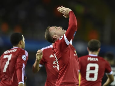 Wayne Rooney's Euro 2016 spot could be under attack. AFP