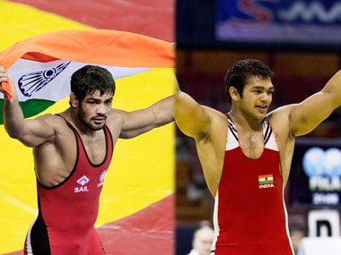Sushil Kumar and Narsingh Yadav are grappling for one Olympic spot