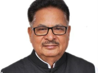 File image of PL Punia. Twitter @plpunia