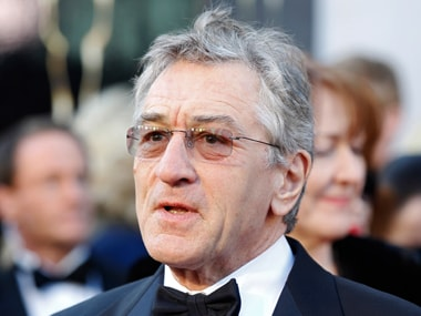 Robert De Niro. Reuters