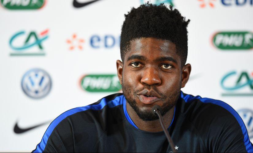 France's defender Samuel Umtiti. AFP