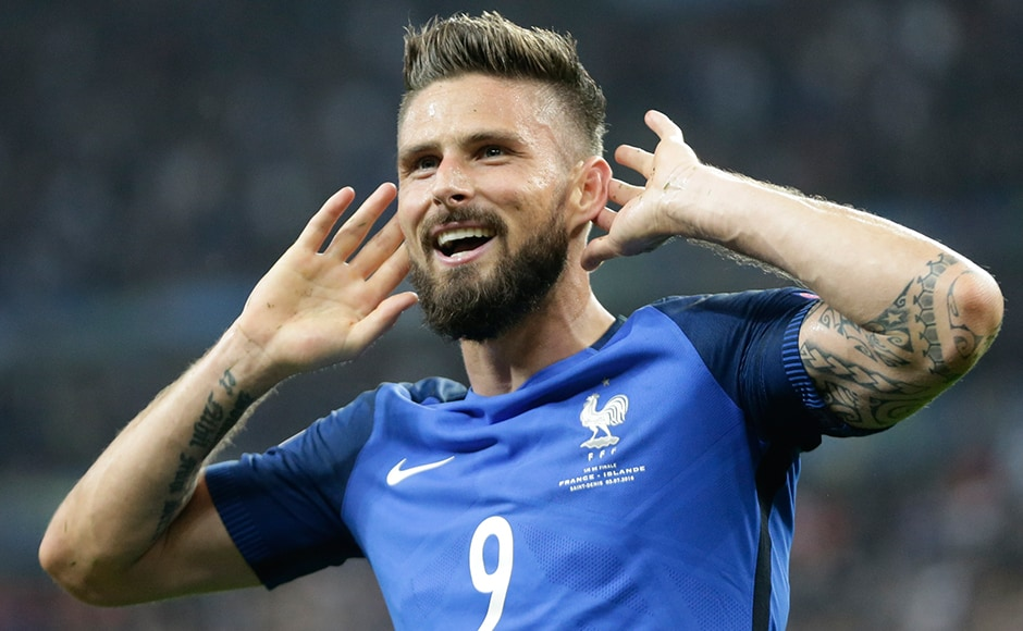 Olivier Giroud stars as France come into their own in the quarter-final to cruise past Iceland 5-2. AP