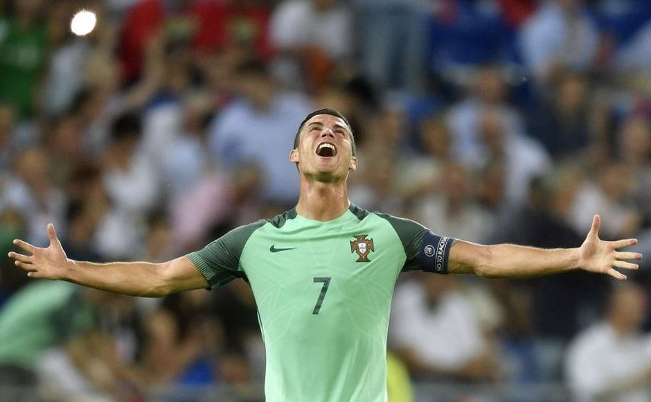 Ecstasy for Ronaldo who kept the dream of his first International honour alive after guiding Portugal to the Final of Euro 2016. AP