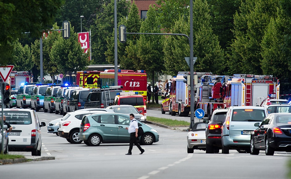The shooting comes just days after a teenage asylum seeker went on the rampage with an axe and a knife on a regional train in Germany, injuring five people. Interior Minister Thomas de Maiziere said the teenager was believed to be a