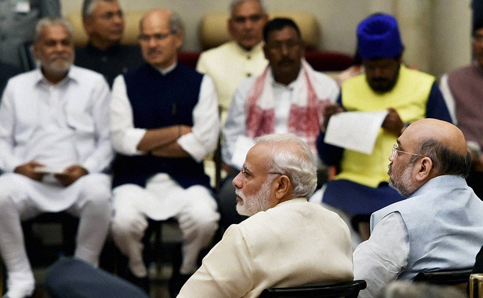 BJP President Amit Shah expressed confidence that the newly inductedministers in the government will do their best for the country. PTI