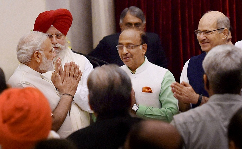 Vijay Goel is making a comeback in the Union Cabinet after more than a decade. The Delhi strongman was previously MoS, PMO under PM Atal Bihari Vajpayee. PTI