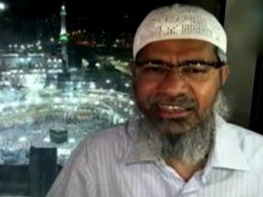 File image of Zakir Naik. News18