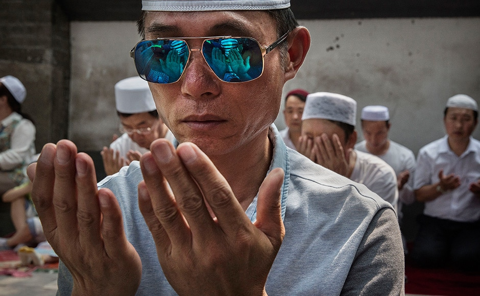The Hui Muslim population fast from dawn until dusk during Ramadan and it is believed there are more than 20 million members of the community in the country. Getty images.