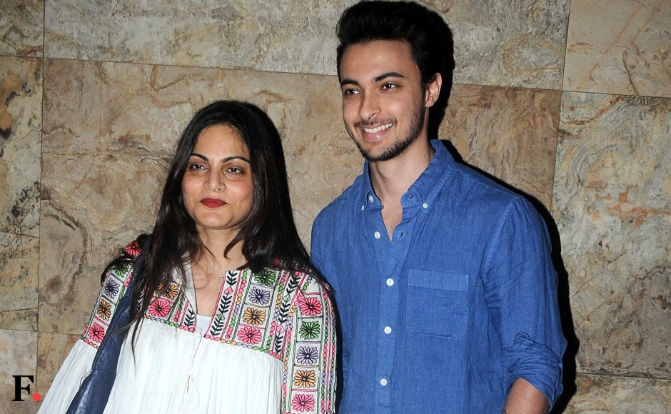 We spotted Alvira Agnihotri with brother-in-law Ayush Sharma. Image by Sachin Gokhale/Firstpost