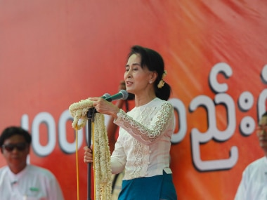 A file photo of Aung Suu Kyi, Reuters