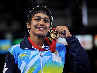 File photo of Babita Kumari. AFP