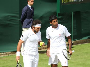 Rohan Bopanna progressed into the second round of the Winbledon in the doubles category. Faceboook/ Wimbledon