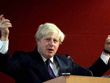 A file photo of Boris Johnson. PTI