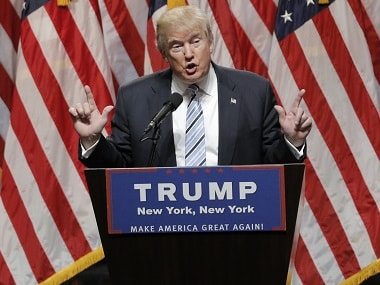 Presumptive Republican US presidential candidate Donald Trump. Reuters