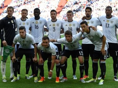 Germany will be hoping of repeating their World Cup semi-final performance in the Euros. AFP