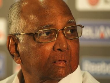 NCP chief Sharad Pawar. Getty Images
