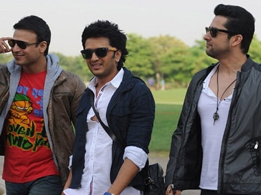 Vivek Oberoi, Riteish Deshmukh and Aftab Shivdasani in 'Great Grand Masti'