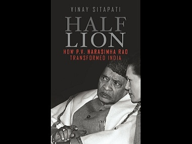 Cover of 'Half-Lion' by Vinay Sitapati